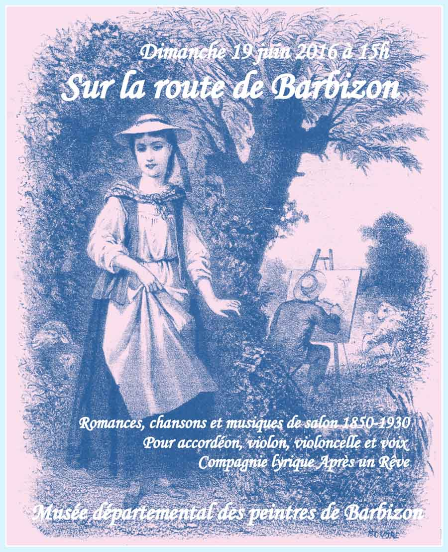 sur la route de Barbizon