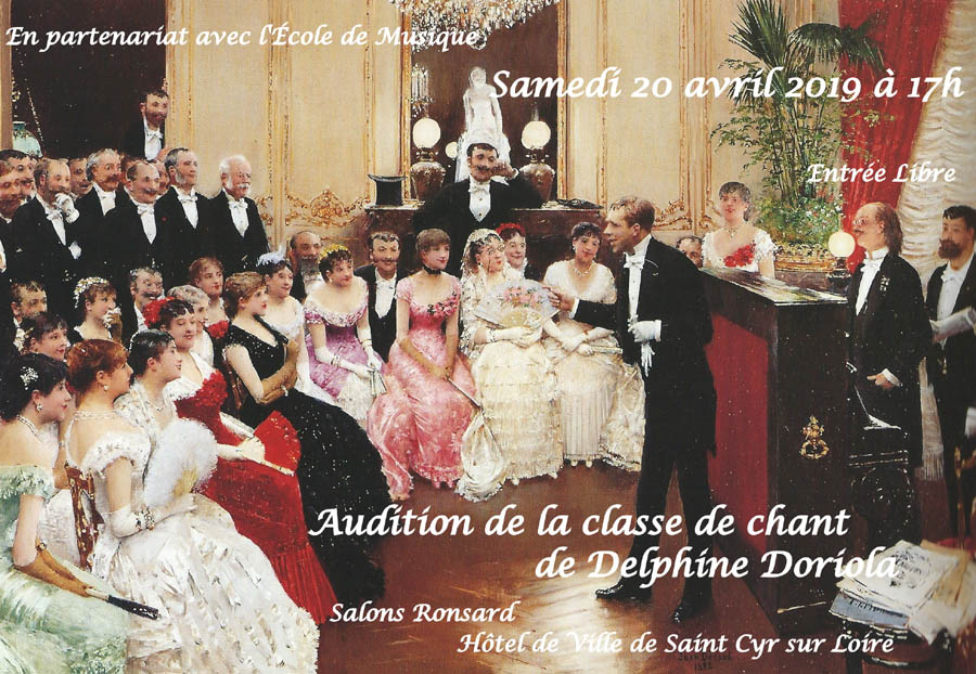 Audition classe de chant